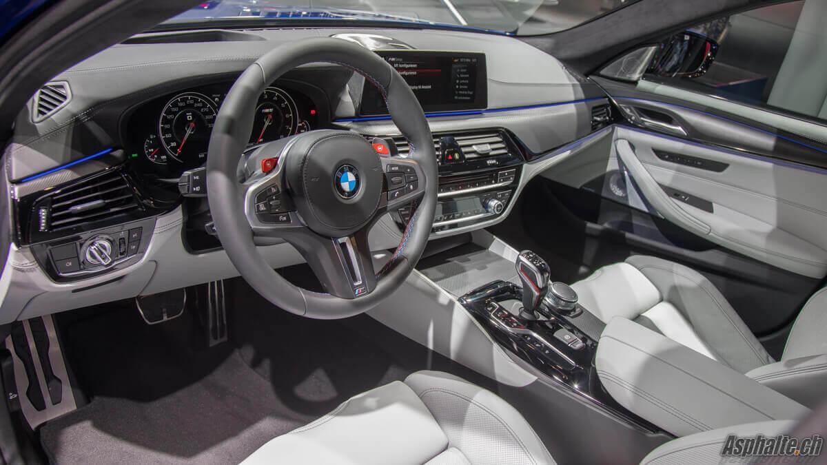 BMW M5 F90 intérieur
