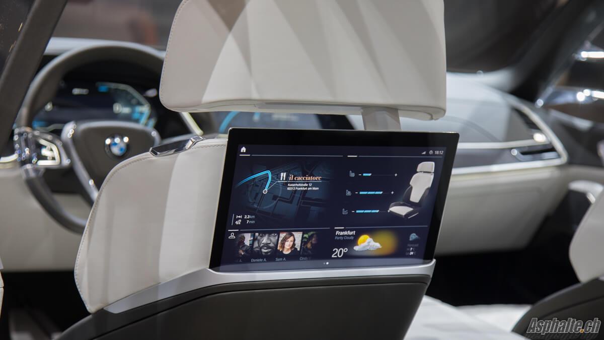 BMW X7 Concept intérieur