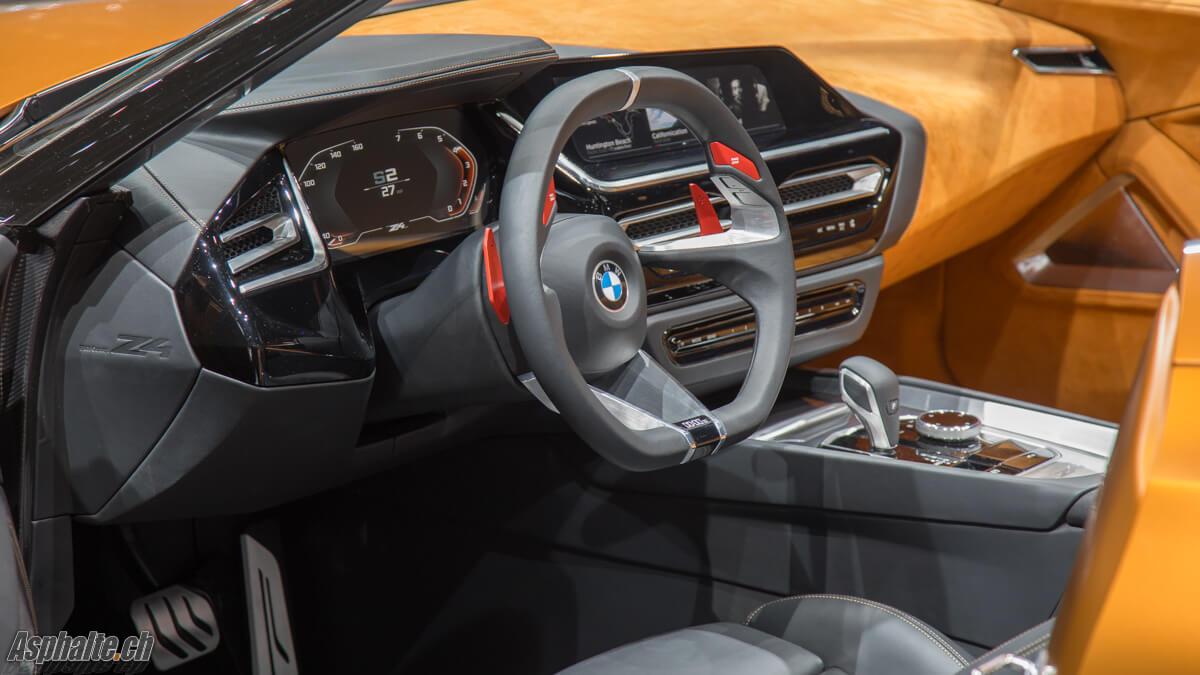 BMW Z4 Concept intérieur