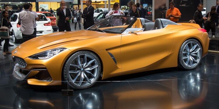 BMW Z4 Concept IAA 2017