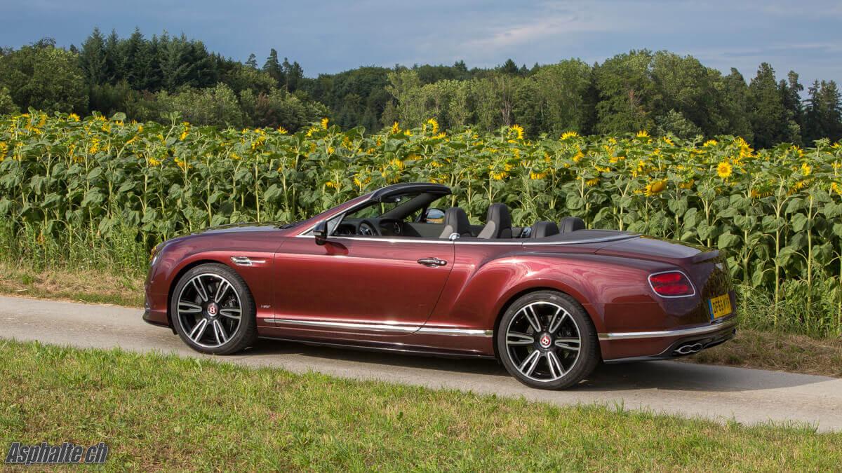 Essai Bentley Continental GT Convertible V8S Sunset