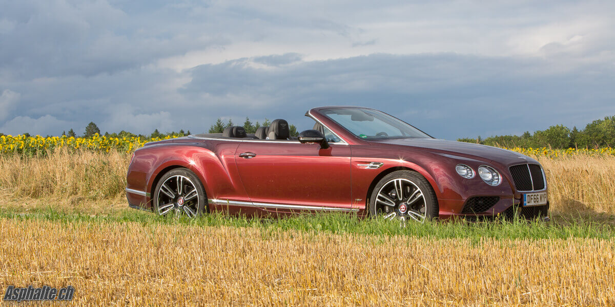 Essai Bentley Continental GTC V8S