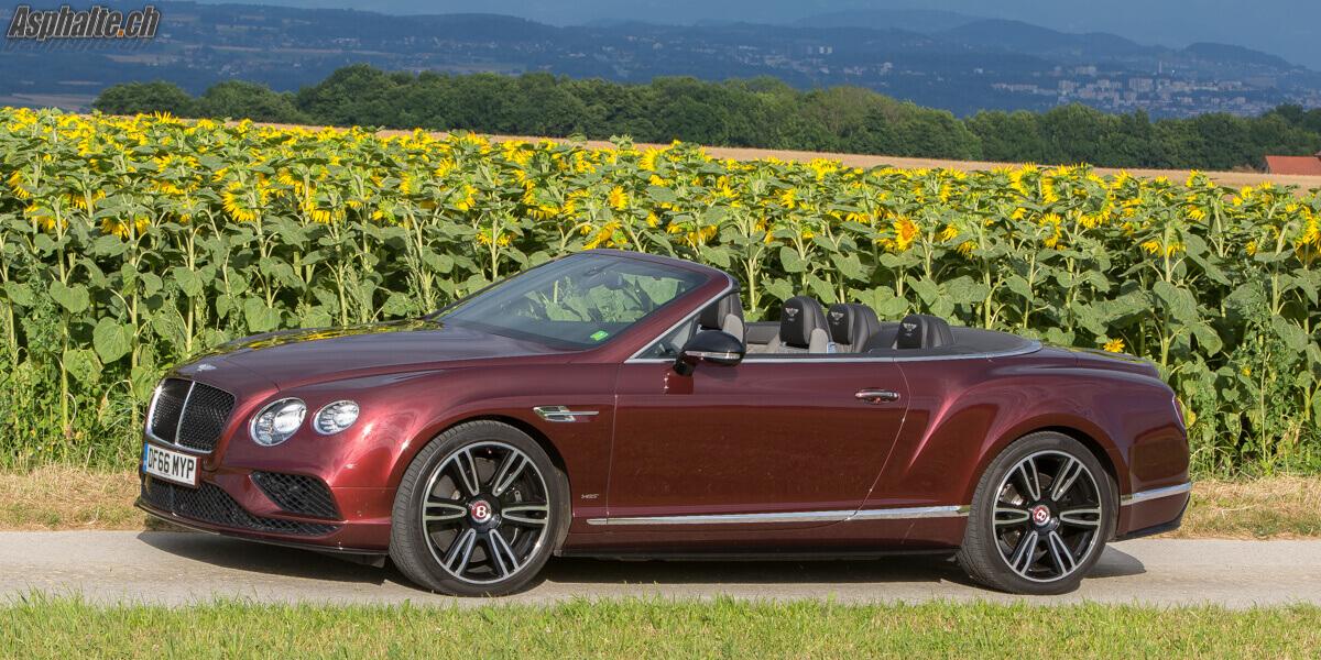 Essai Bentley Continental GTC V8S Sunset