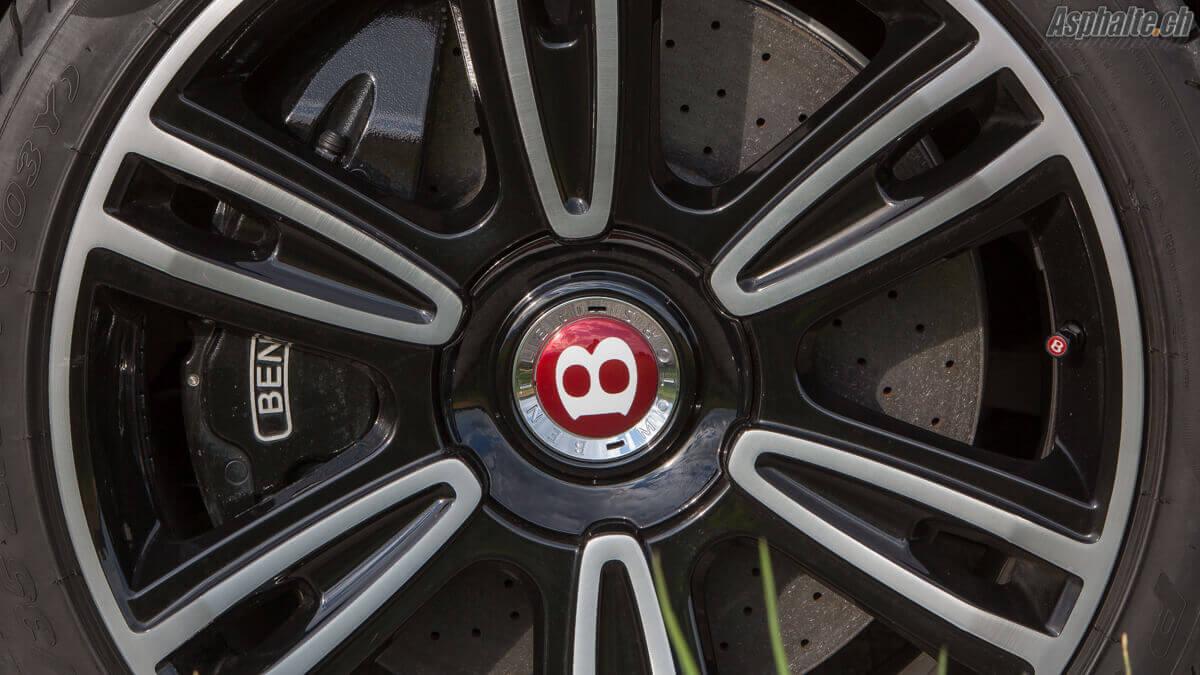 Essai Bentley Continental GT Convertible V8S jantes freins carbone céramique