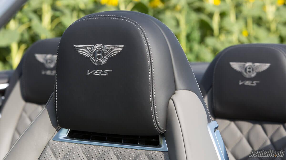 Essai Bentley Continental GT Cabriolet V8S