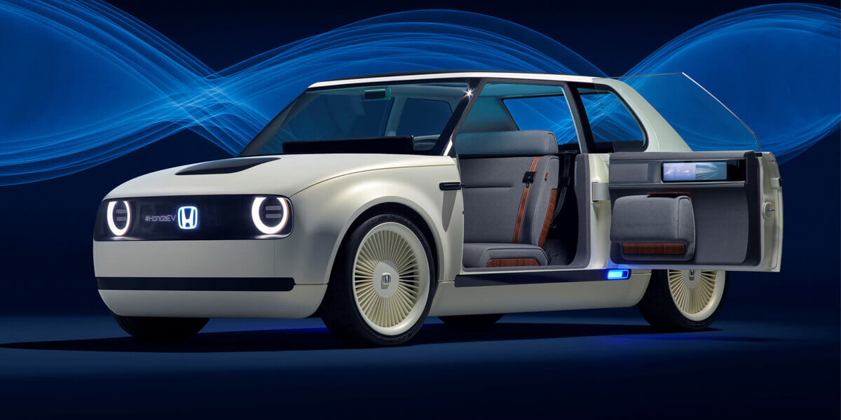Honda Urban EV Concept portes
