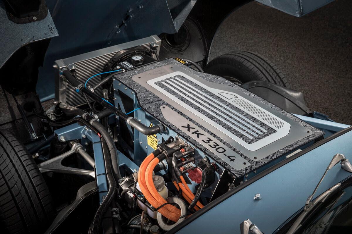 Jaguar E-Type Zero Electrique