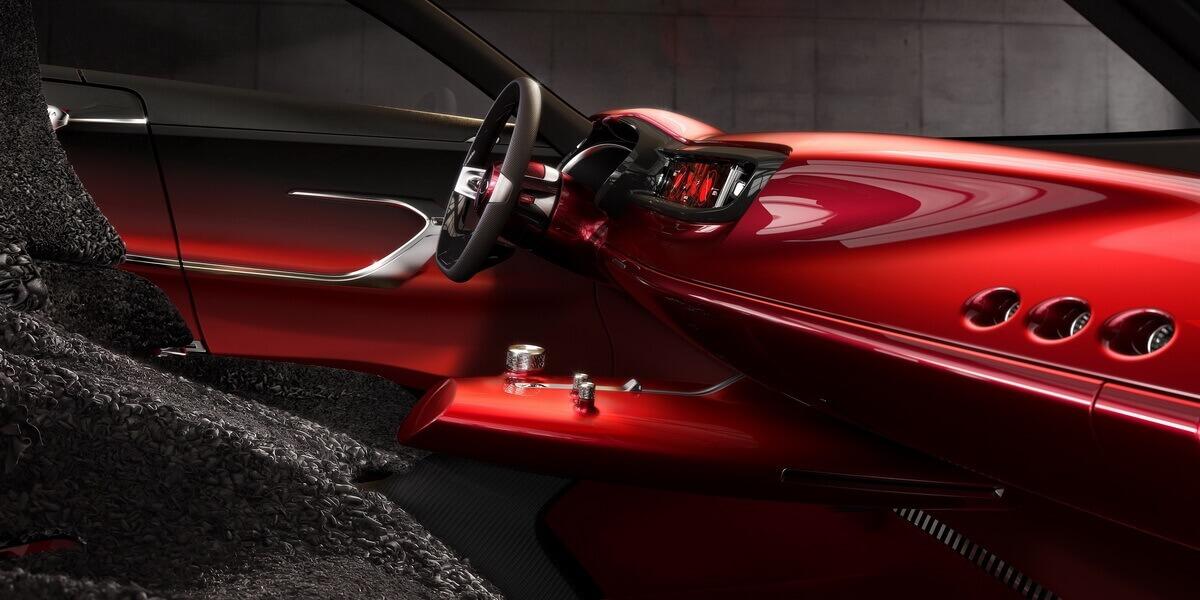 Kia Proceed Concept intérieur