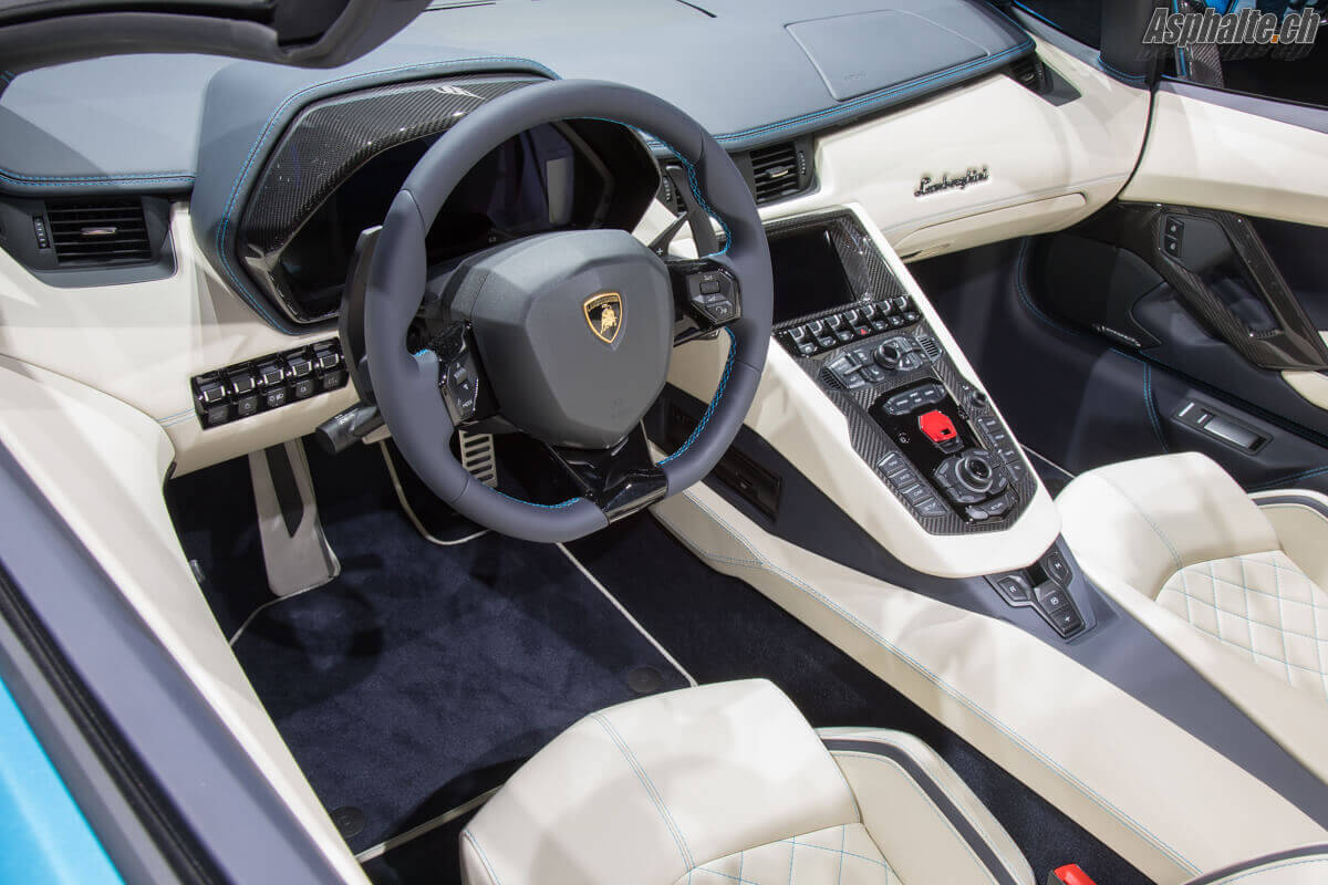 Lamborghini aventador interieur for Dec design interieur