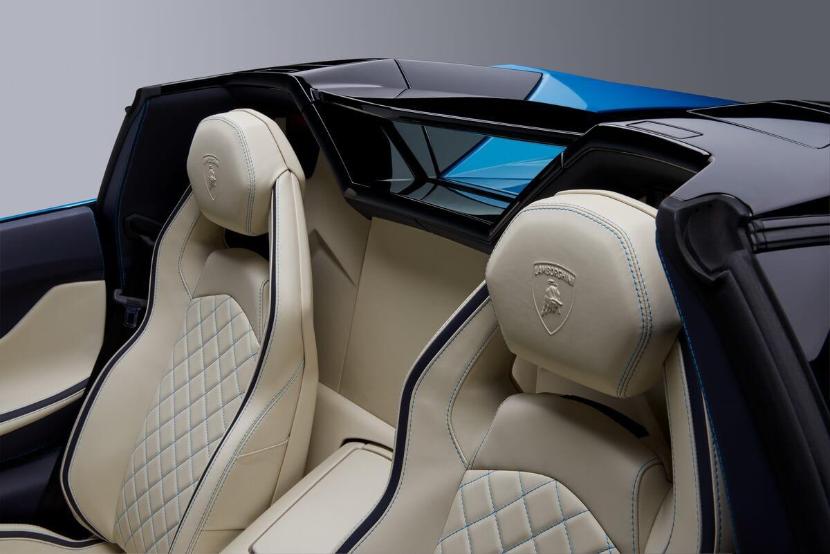 Lamborghini Aventador S Roadster intérieur