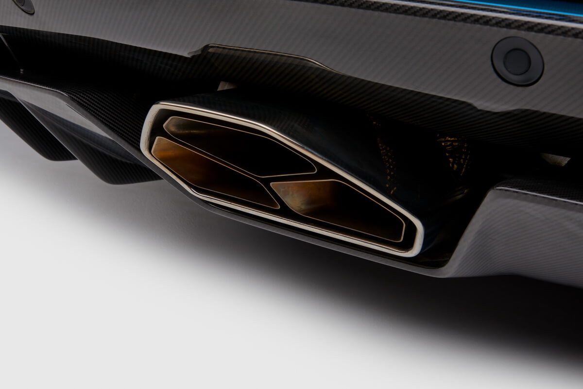 Lamborghini Aventador S Roadster échappement