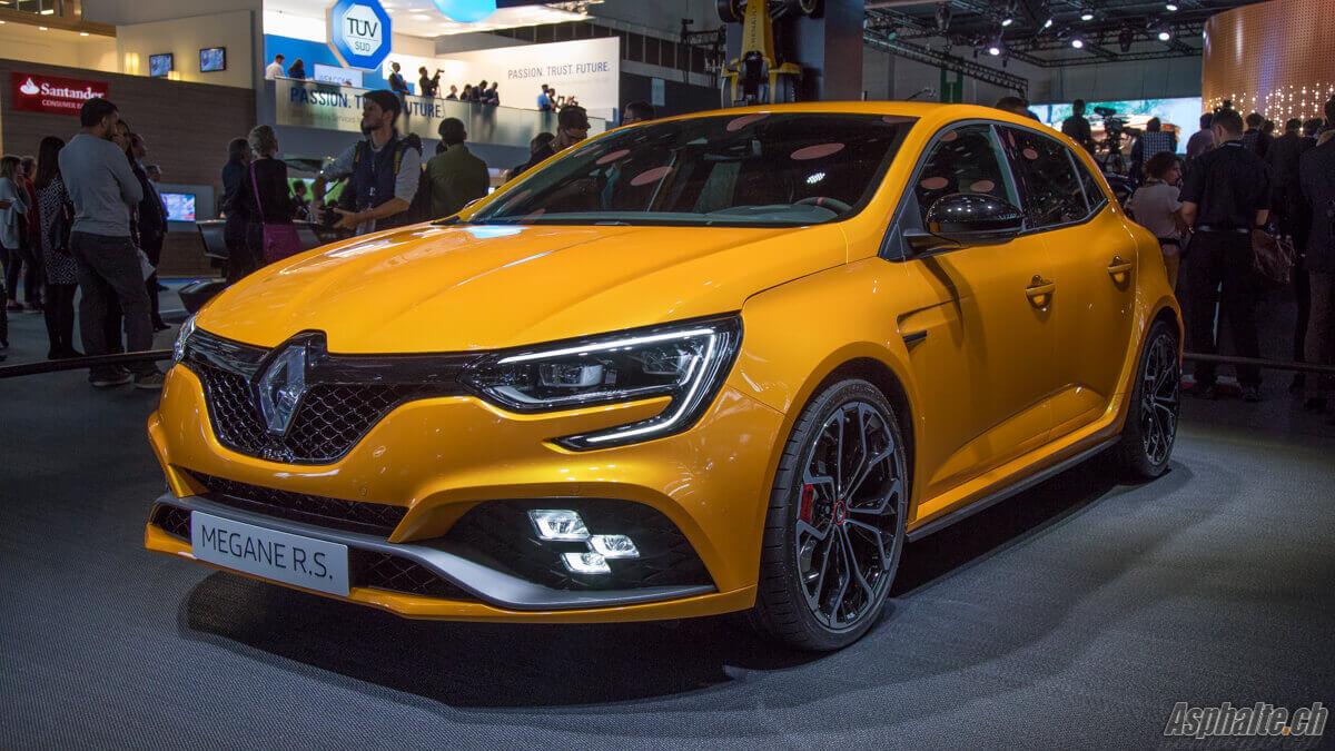 Renault Megane 4 RS Salon de Francfort