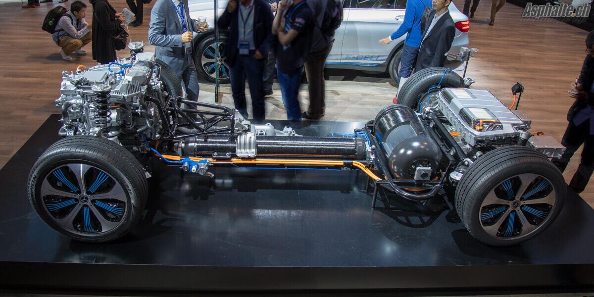 Mercedes GLC F-Cell plateforme
