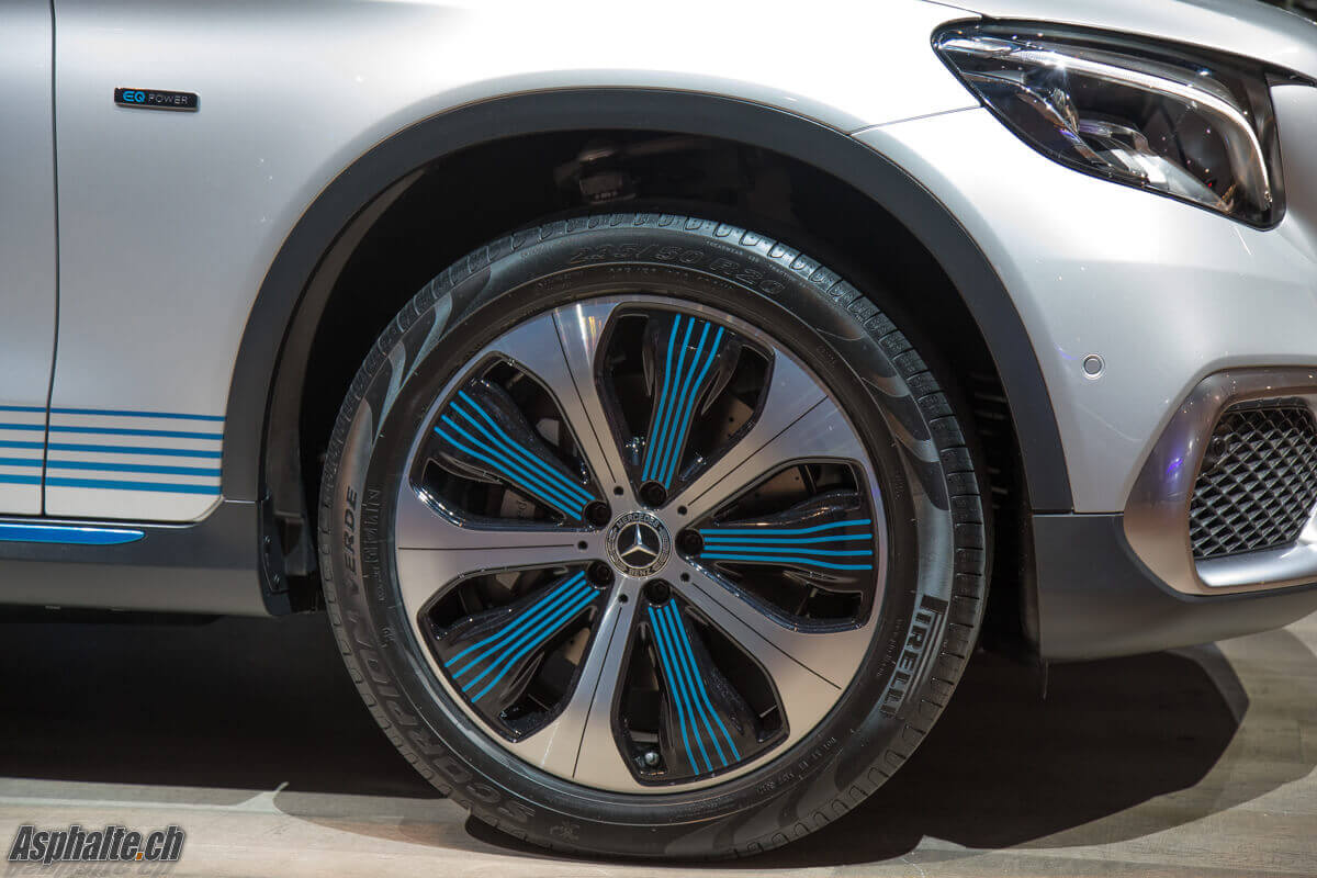 Mercedes GLC F-Cell Jante