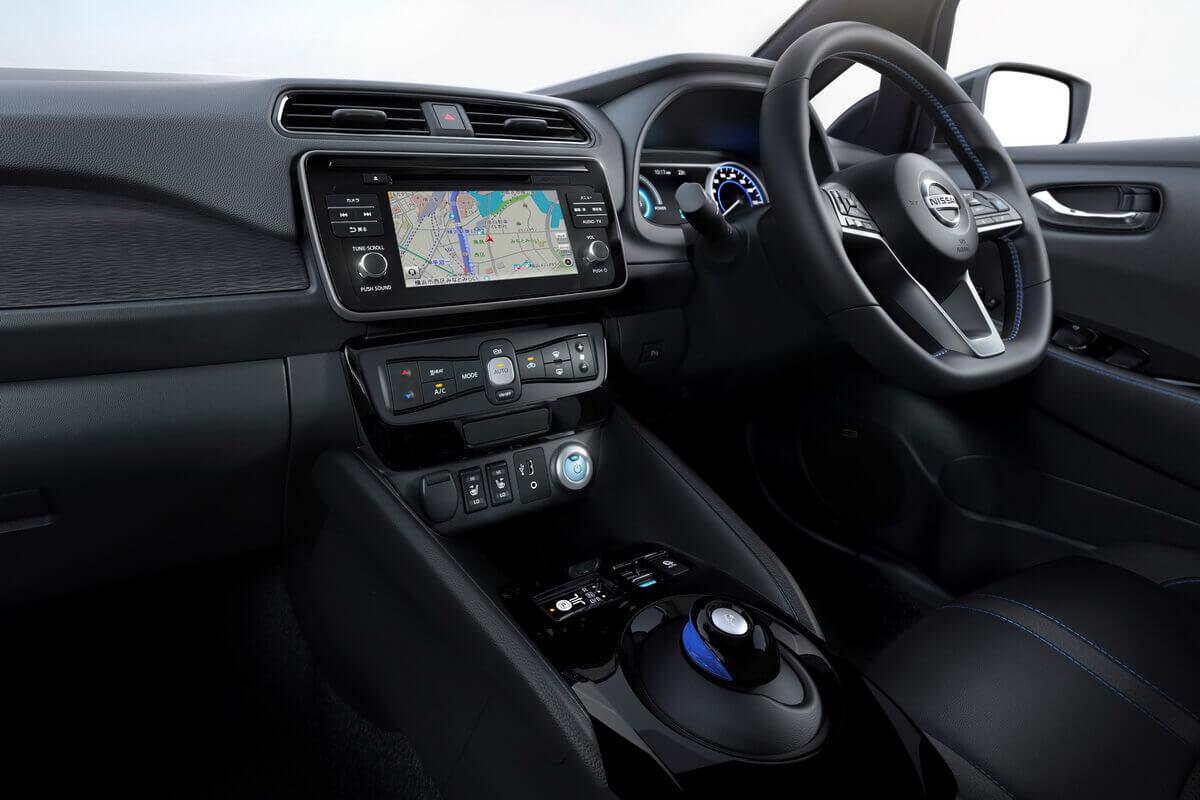Nissan Leaf 2 2018 intérieur