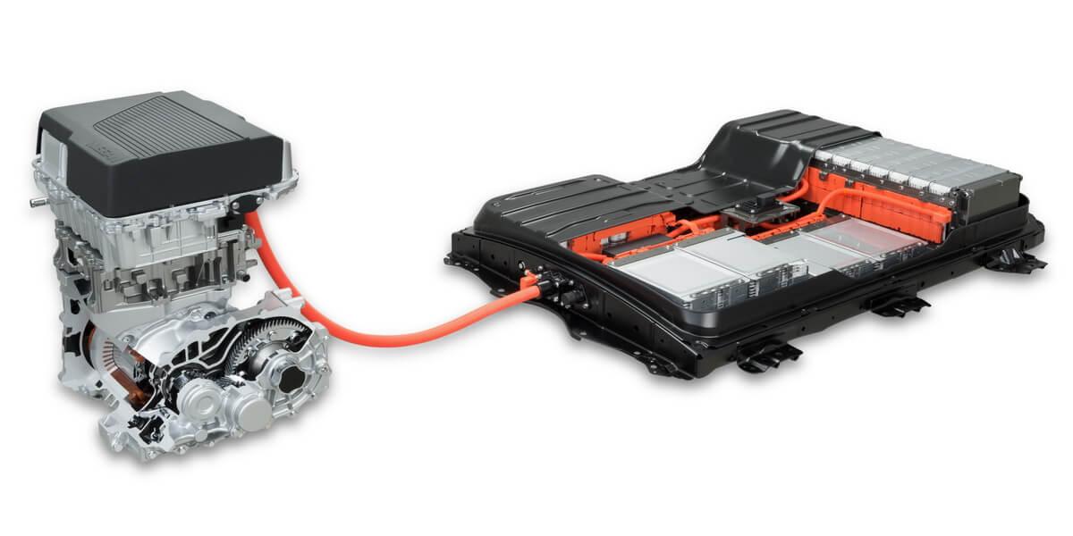 Nissan Leaf 2 2018 moteur pack batteries