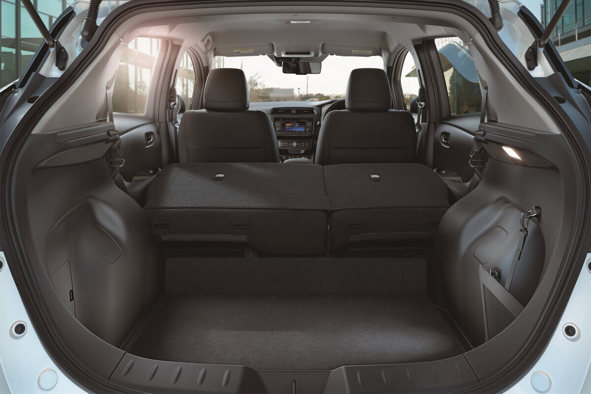 Nissan Leaf 2 2018 coffre