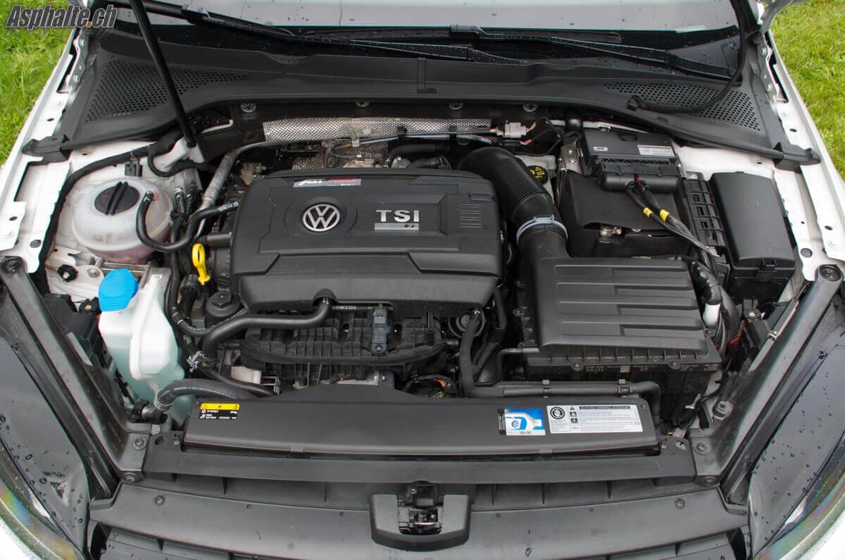 Essai VW Golf R 360S moteur
