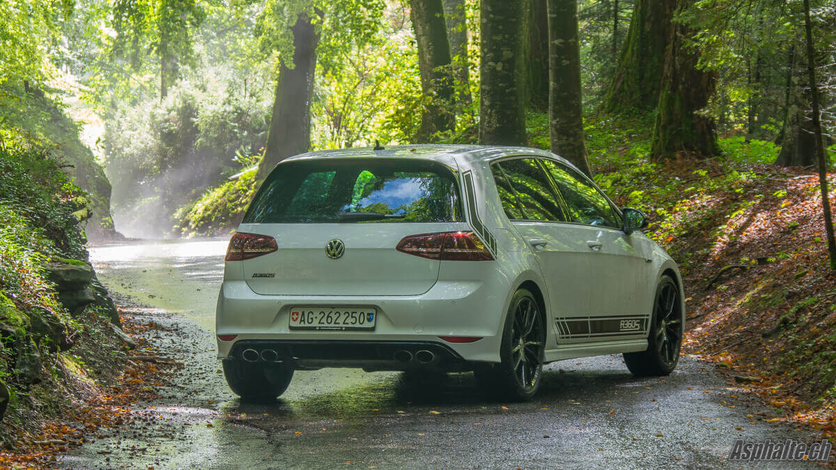 Essai VW Golf 7R 360S