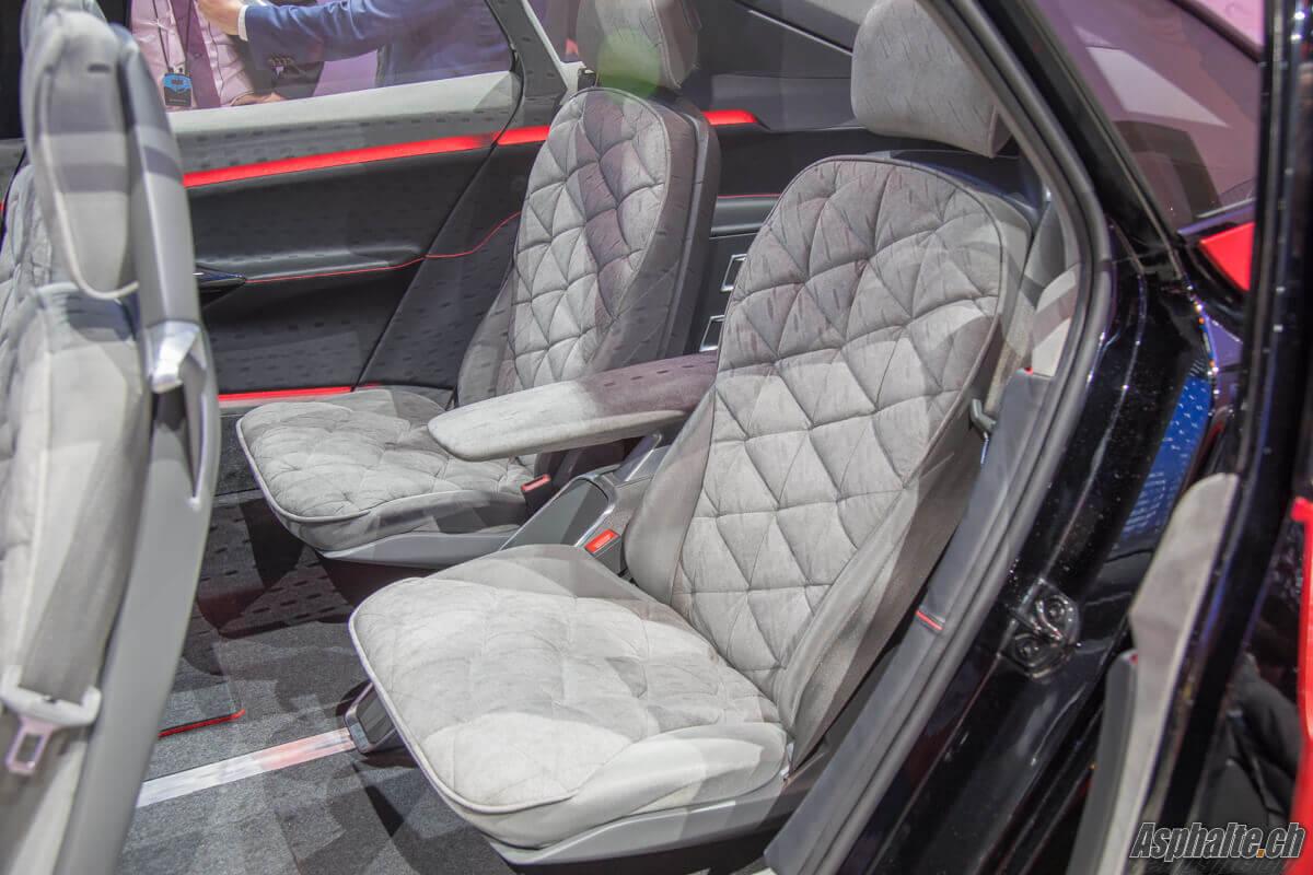 VW II.D. Crozz Concept sièges arrière