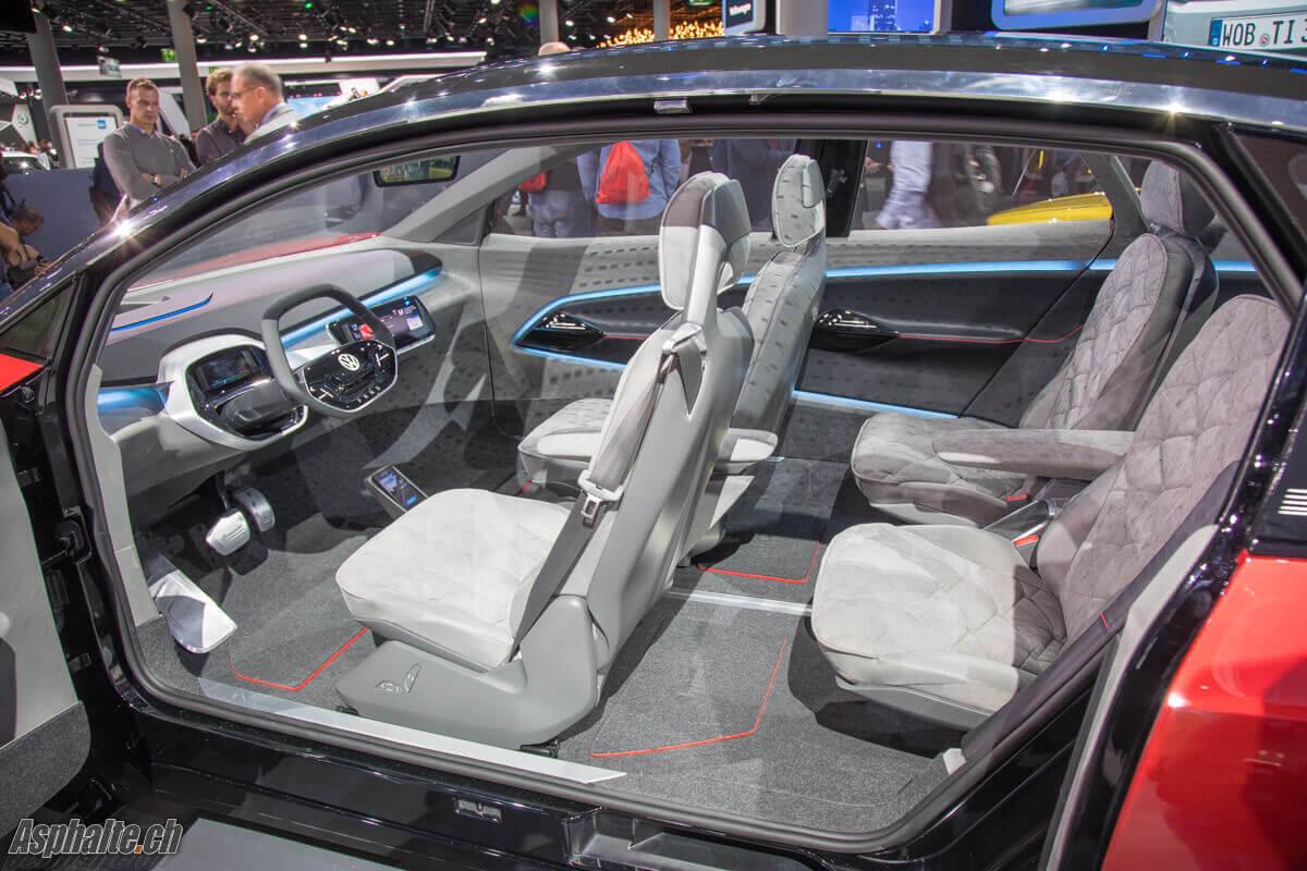 VW I.D. Crozz intérieur