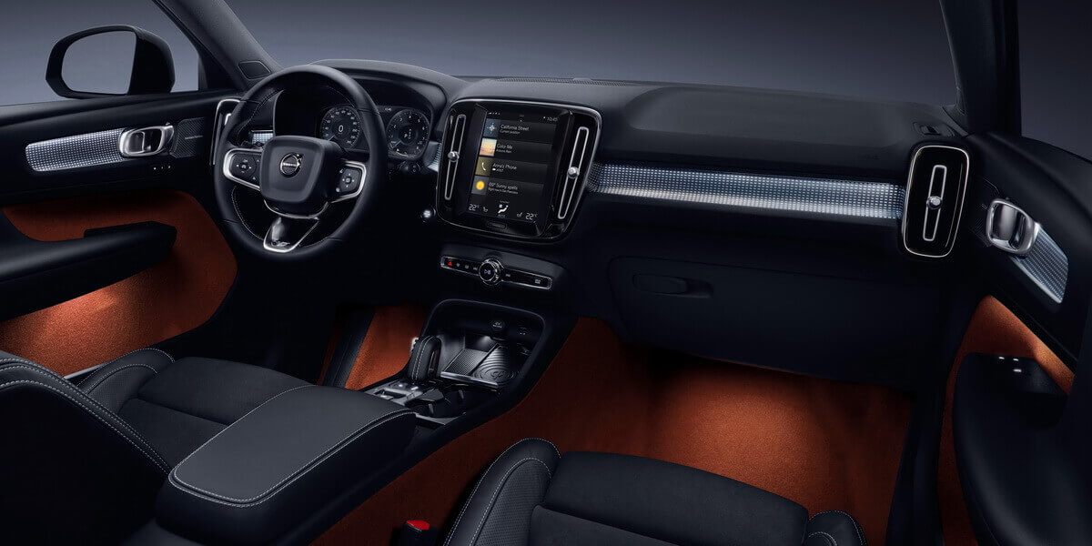 Volvo XC40 tableau de bord