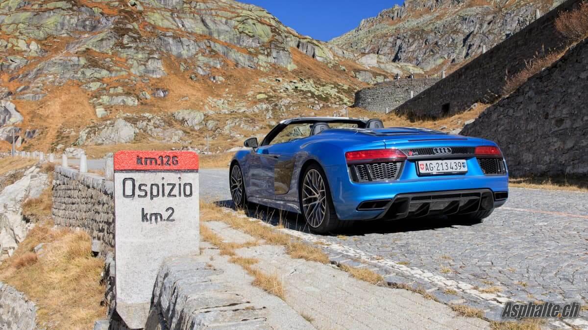 Essai Audi R8 V10 Spyder