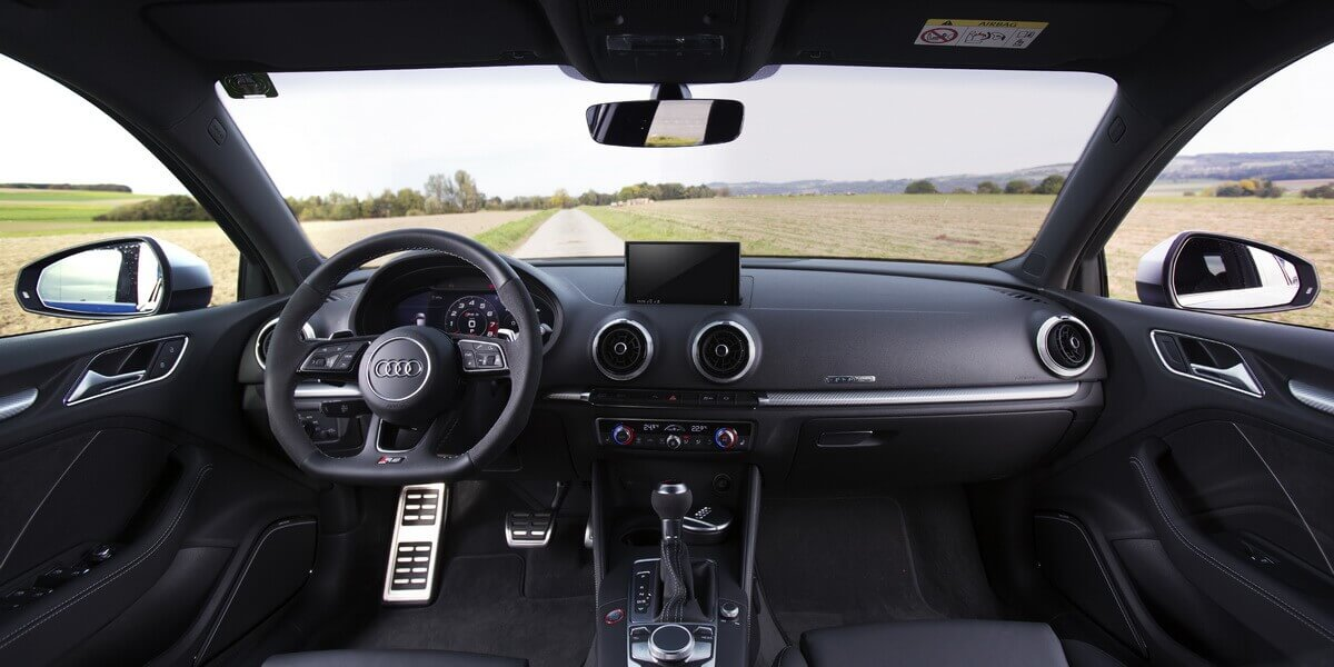 Essai Audi RS3 8V Phase 2 Facelift intérieur