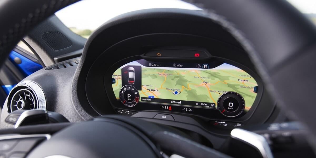 Essai Audi RS3 8V Virtual Cockpit