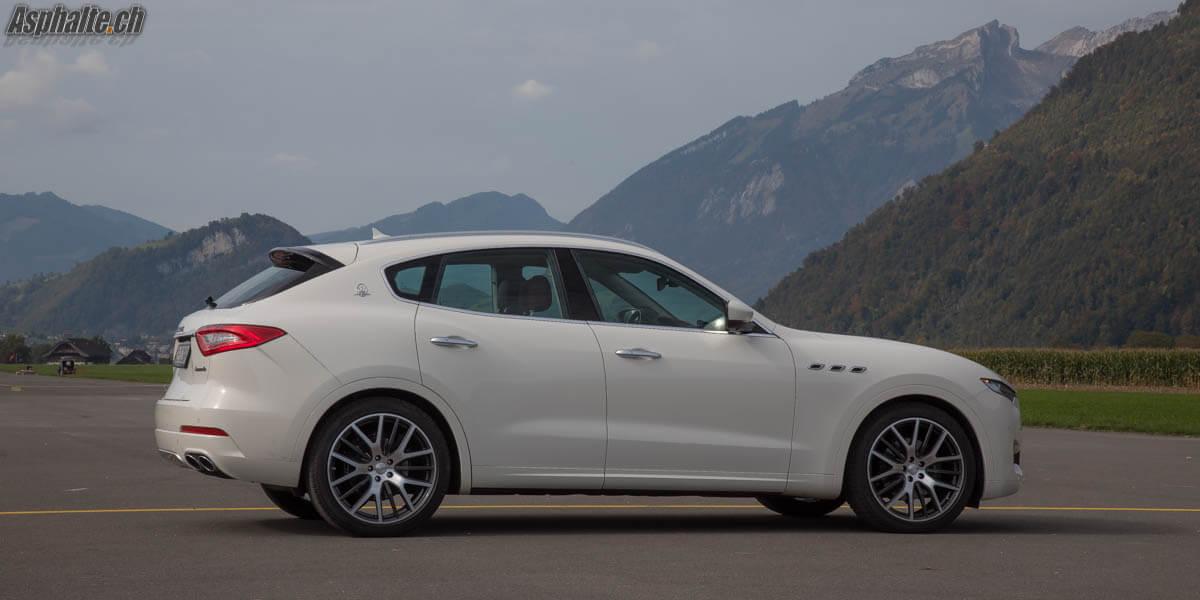 Essai Maserati Levante Diesel Bianco