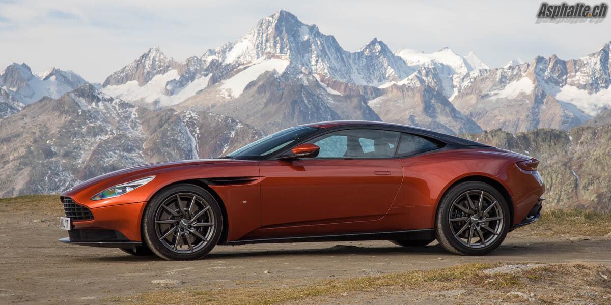 Essai Aston Martin DB11 V12 Cinnabar Orange