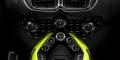 Aston Martin Vantage Lime Essence console centrale