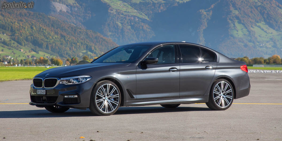 Essai BMW 540i xDrive G30