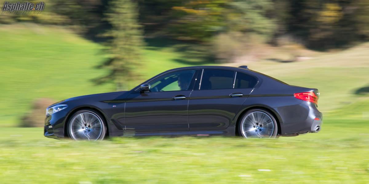 Essai BMW Série 5 G30 2017 Sophisto Grau