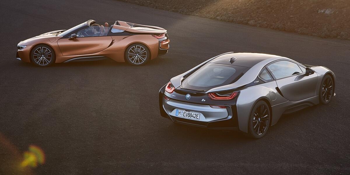 BMW i8 roadster facelift