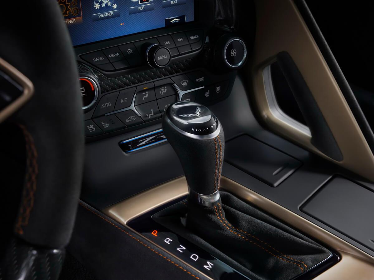 Corvette C7 ZR1 boîte automatique
