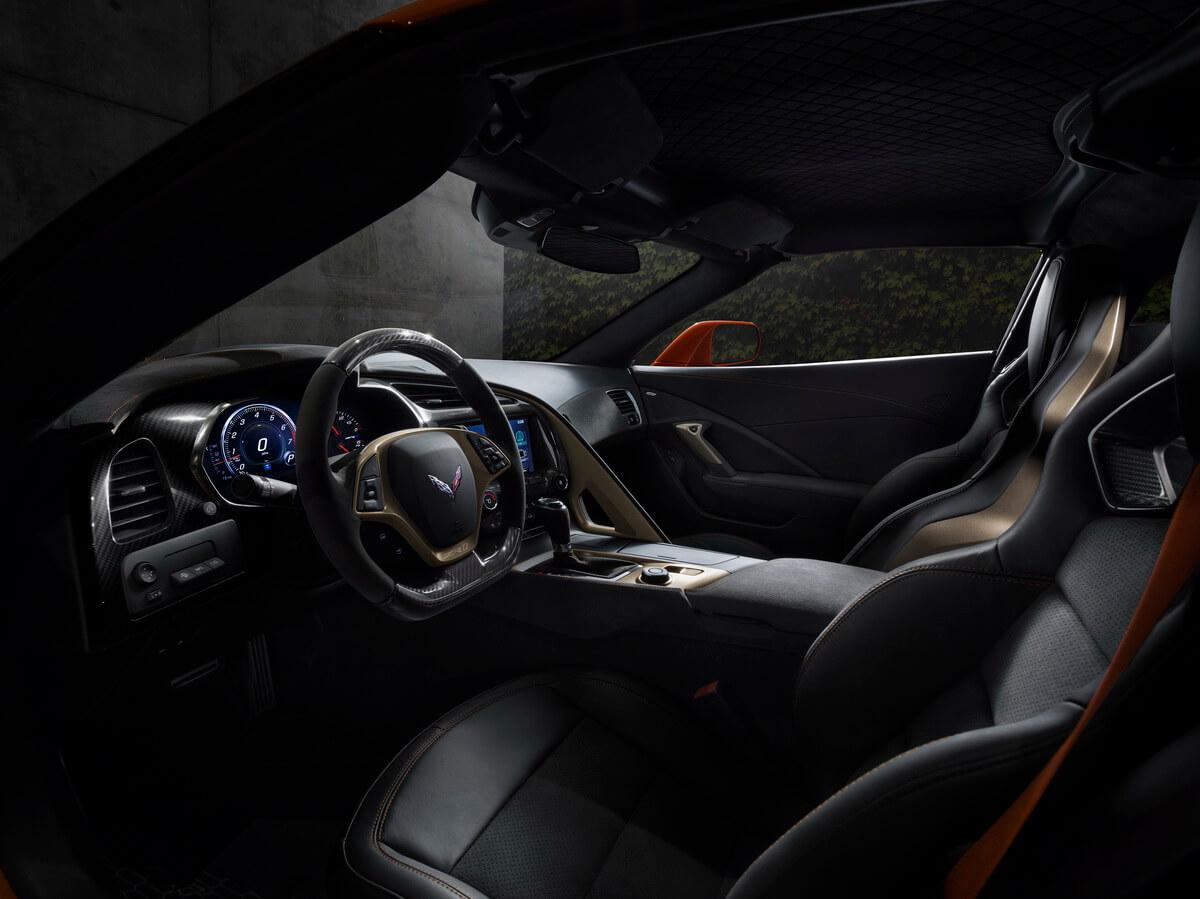 Corvette C7 ZR1 intérieur