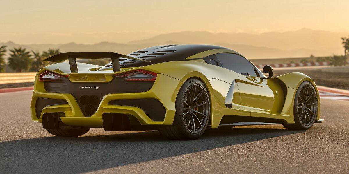 Hennessey Venom F5 : plus rapide qu'une Bugatti Chiron