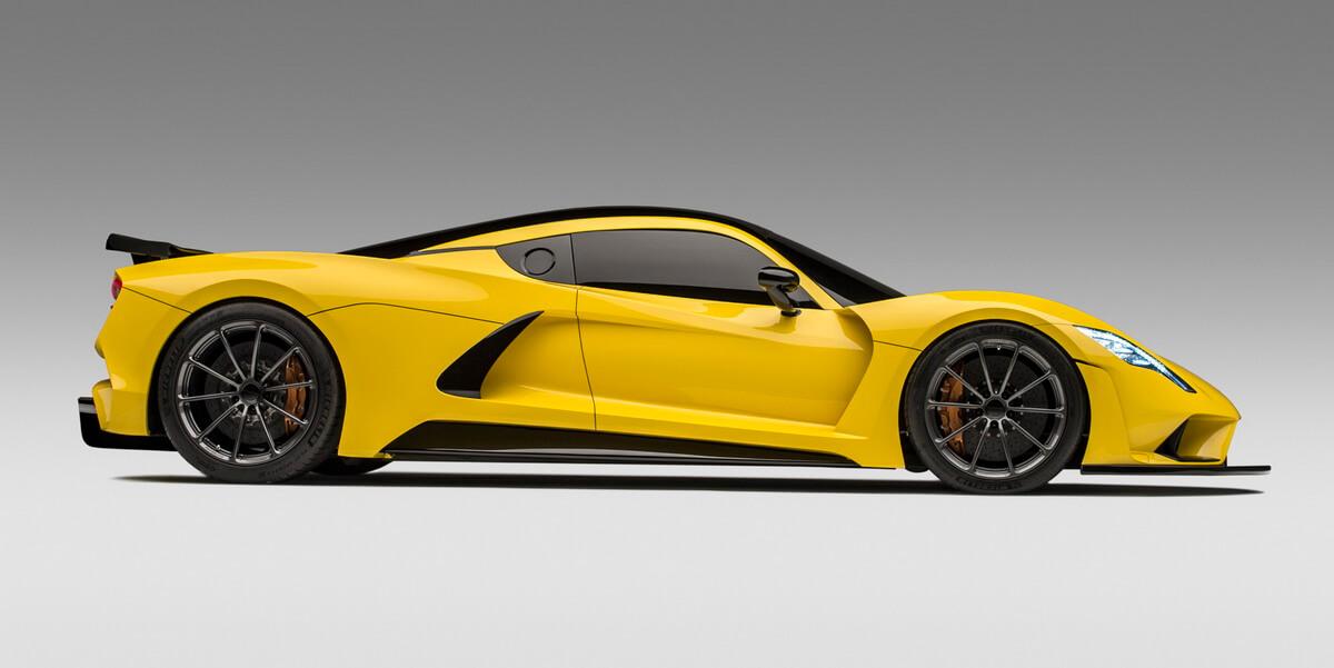 Hennessey Venom F5: la voiture la plus rapide du monde