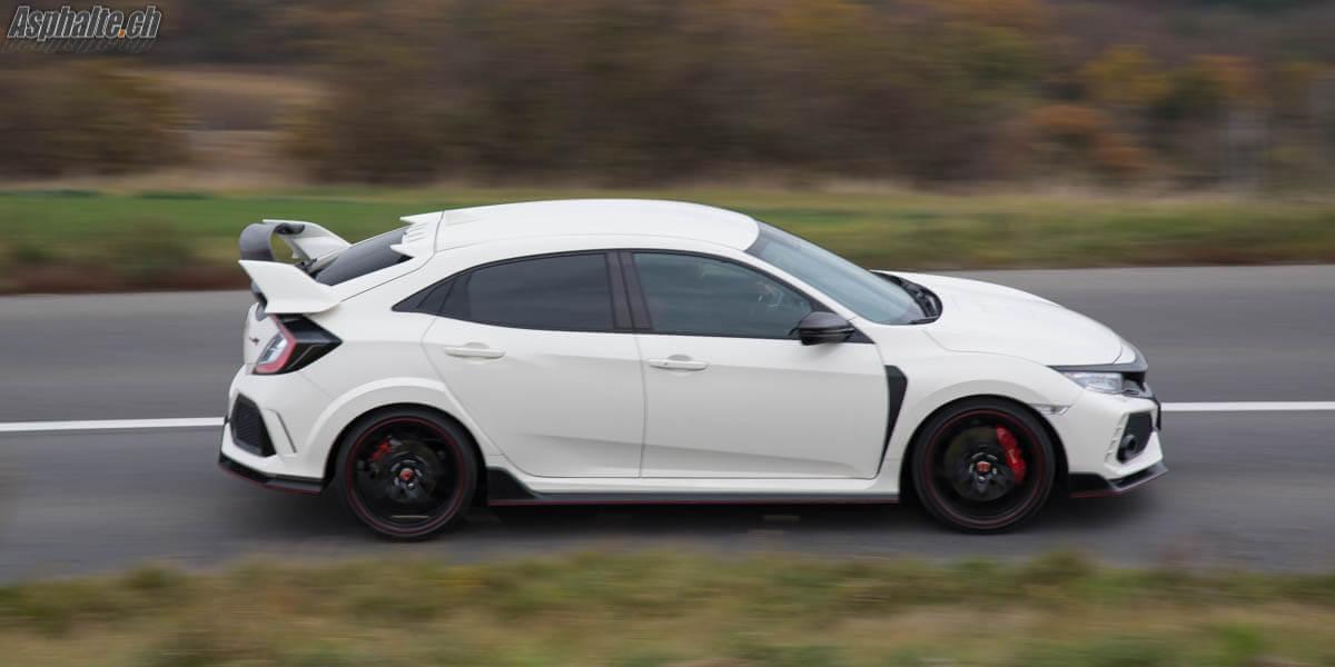 Essai Honda Civic Type R FK8