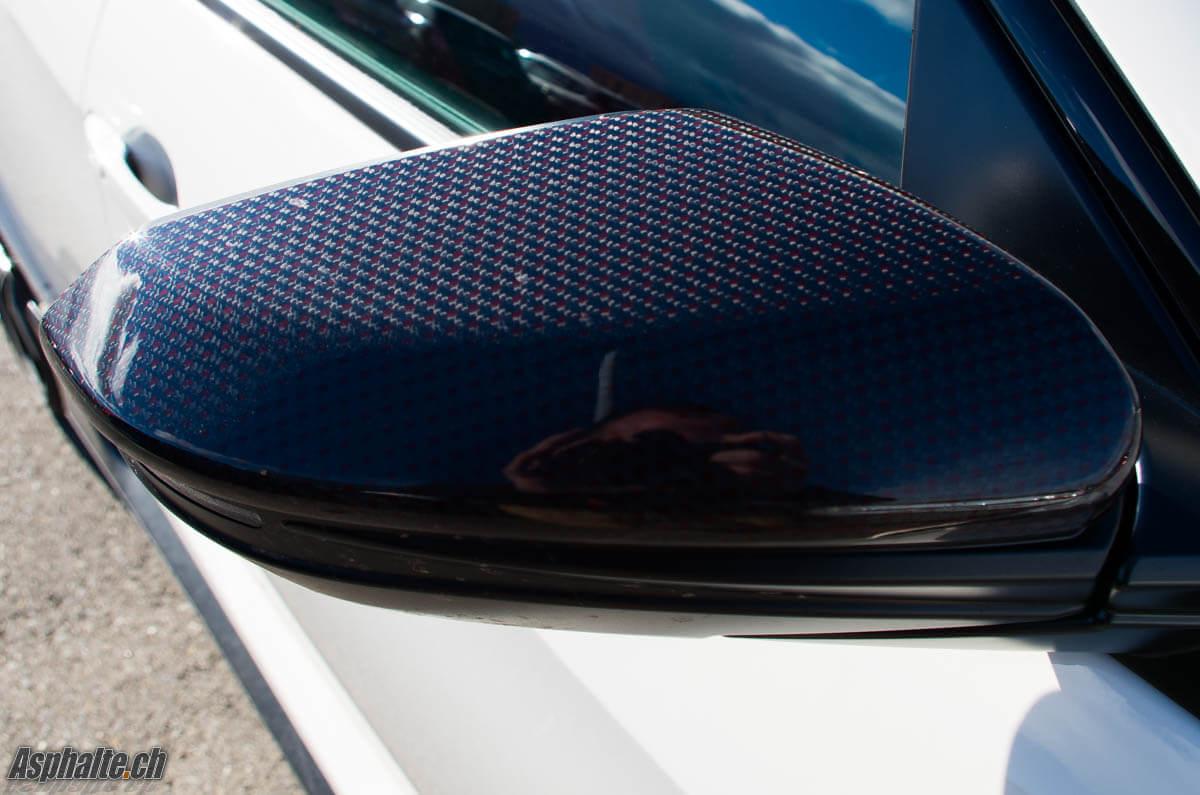 Honda Civic Type R FK8 rétroviseur carbone