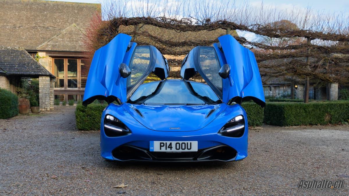 Essai McLaren 720S