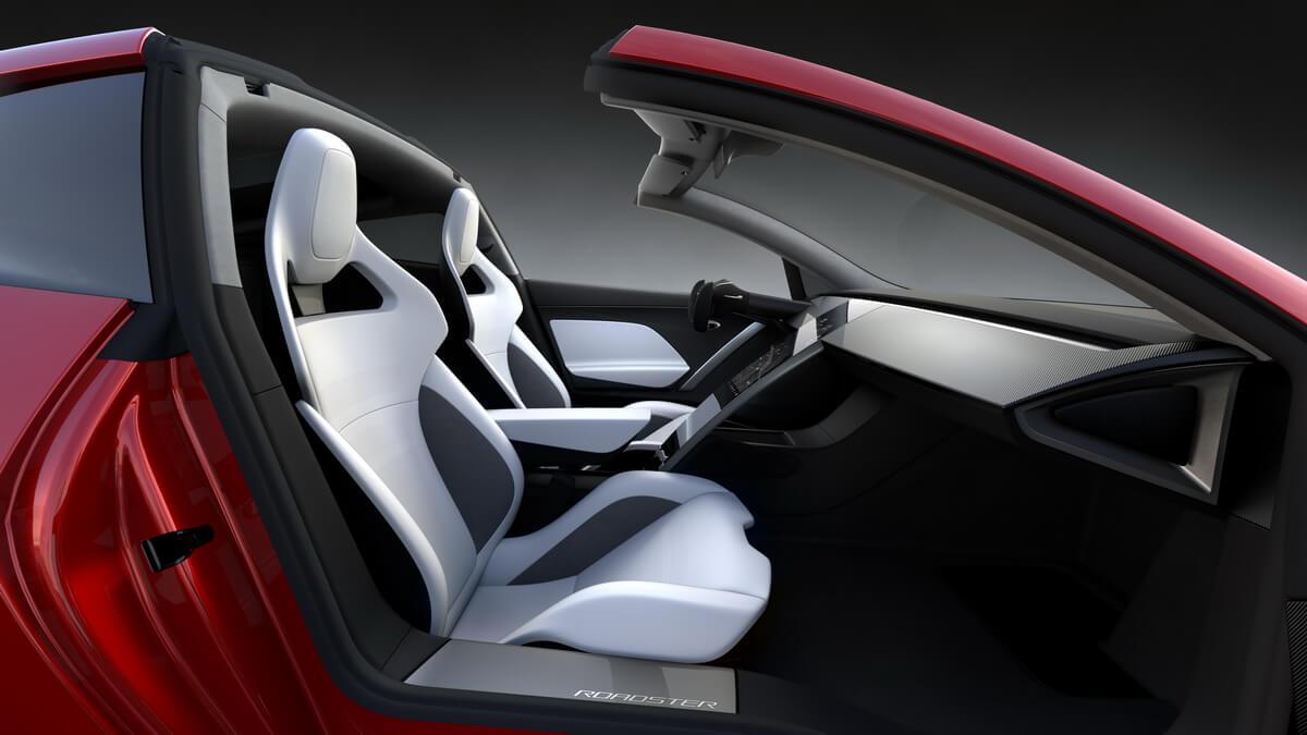 Tesla Roadster intérieur