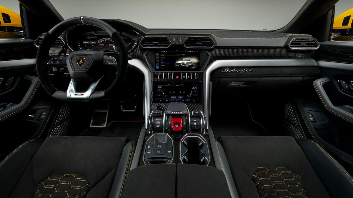 Lamborghini urus super sport for Interieur lamborghini