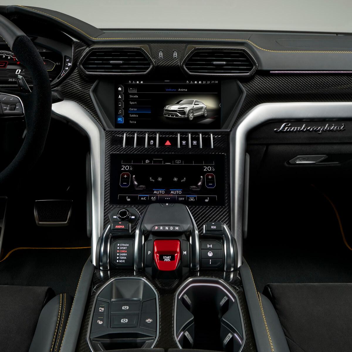 Lamborghini Aventador Roadster >> Lamborghini Urus: Super Sport – Asphalte.ch