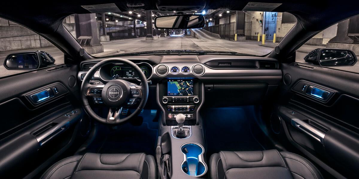 Detroit 2018 Ford Mustang Bullitt Asphalte Ch