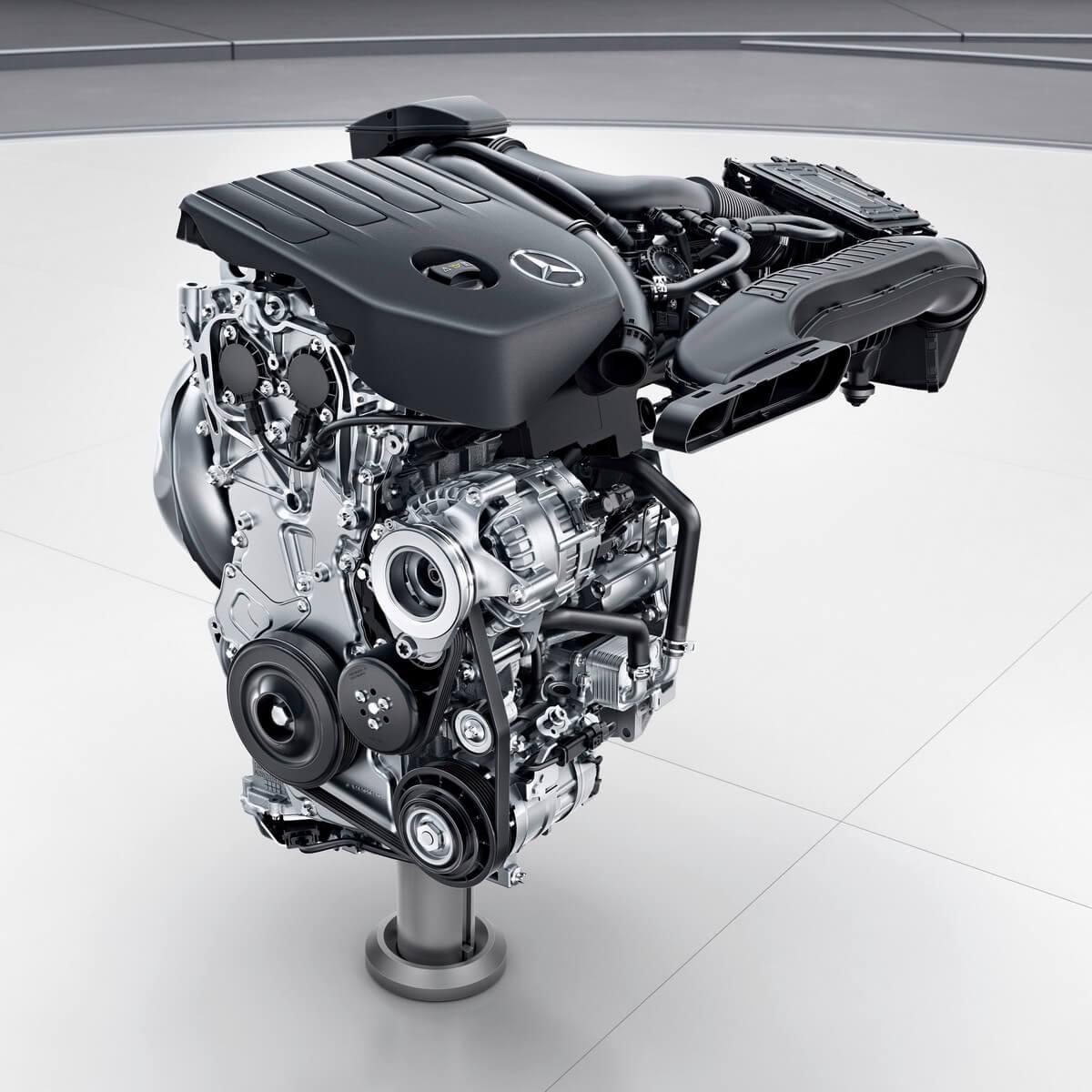 Mercedes Classe A W177 moteur 1.4L M282