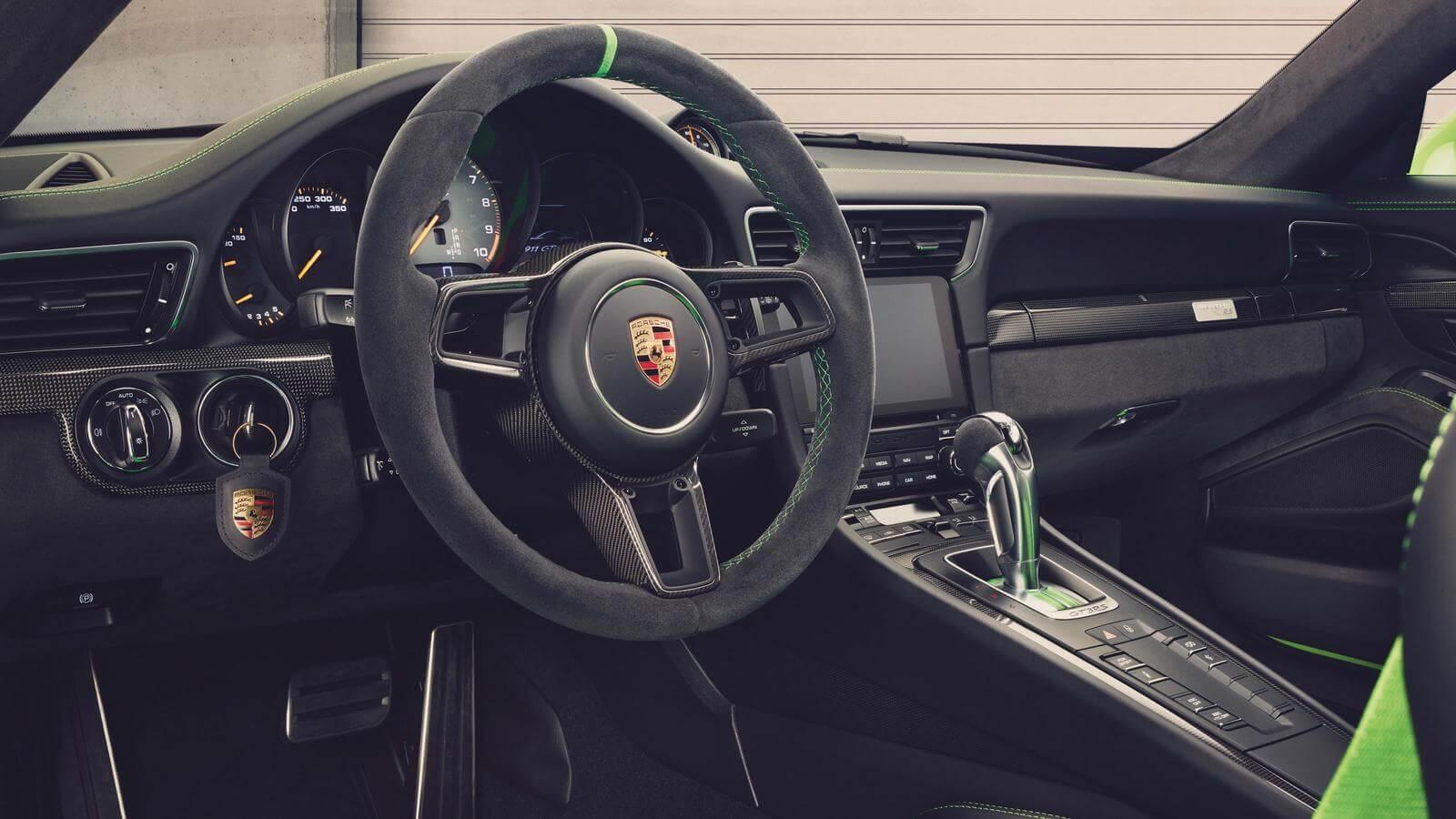 Porsche 991.2 GT3 RS 2018 intérieur