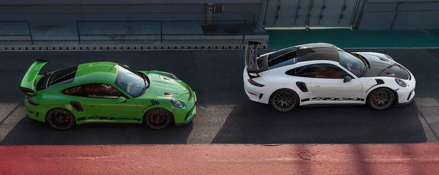 Porsche 991.2 GT3 RS 2018 Vert Lézard Blanc