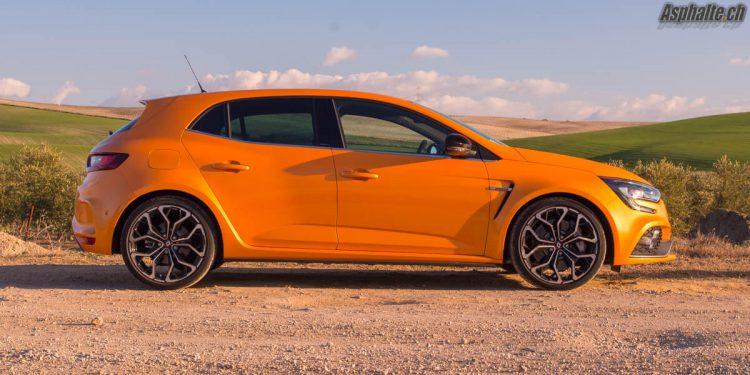 Essai Renault Megane 4 RS Tonic Orange